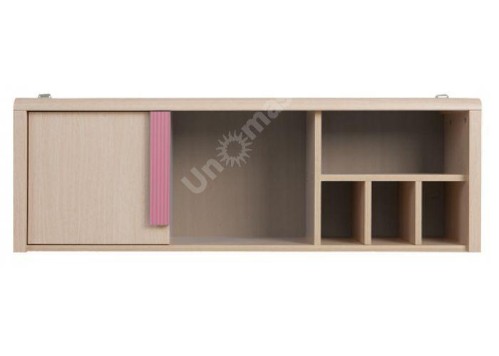 Капс Розовый, 002 Полка SFW1D/120, Офисная мебель, Полки, Стоимость 3872 рублей.