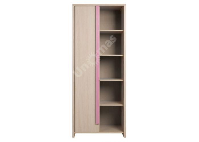 Капс Розовый, 010 Пенал REG1D/80, Детская мебель, Модульные детские комнаты, Капс Розовый, Стоимость 10493 рублей.