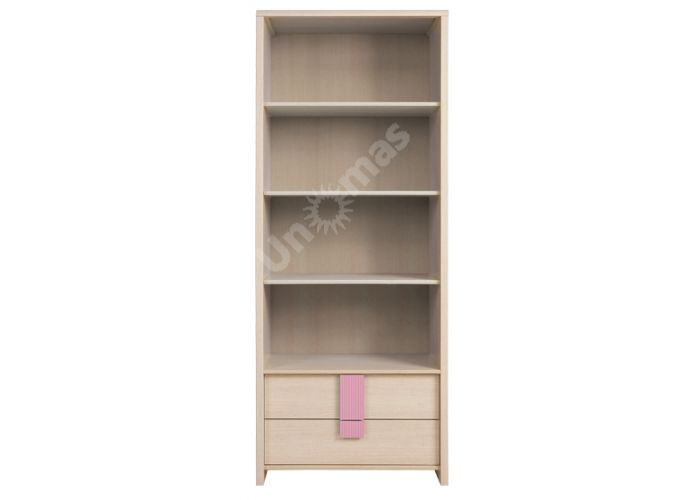 Капс Розовый, 008 Пенал REG2S/80, Детская мебель, Модульные детские комнаты, Капс Розовый, Стоимость 8408 рублей.