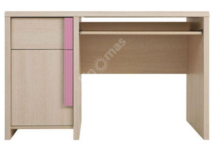Капс Розовый, 004 Стол письменный BIU/120, Офисная мебель, Компьютерные и письменные столы, Стоимость 8213 рублей.