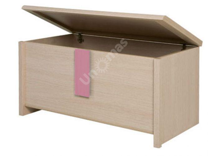 Капс Розовый, 017 Сундучок KUF, Спальни, Комоды, Стоимость 8218 рублей., фото 3