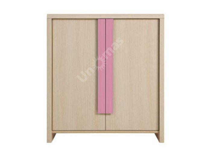 Капс Розовый, 007 Шкафчик KOM2D, Спальни, Комоды, Стоимость 4054 рублей.