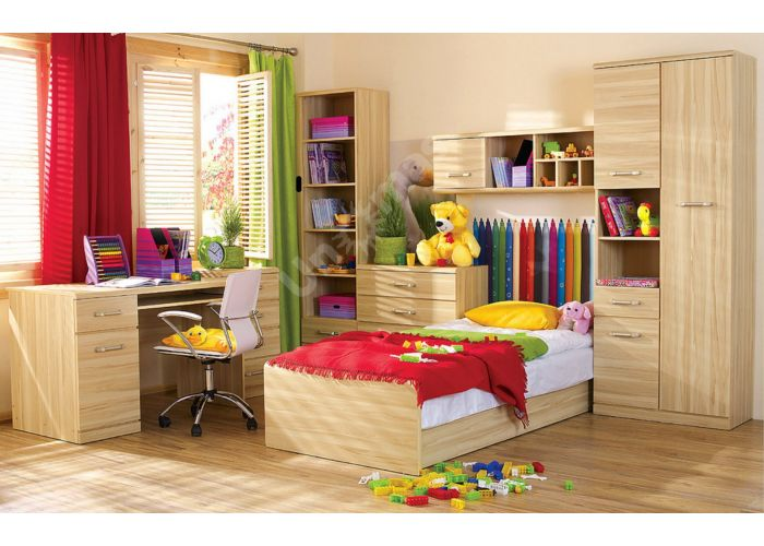 Инди, D Стол письменный 120, Детская мебель, Модульные детские комнаты, Инди, Стоимость 9272 рублей., фото 3