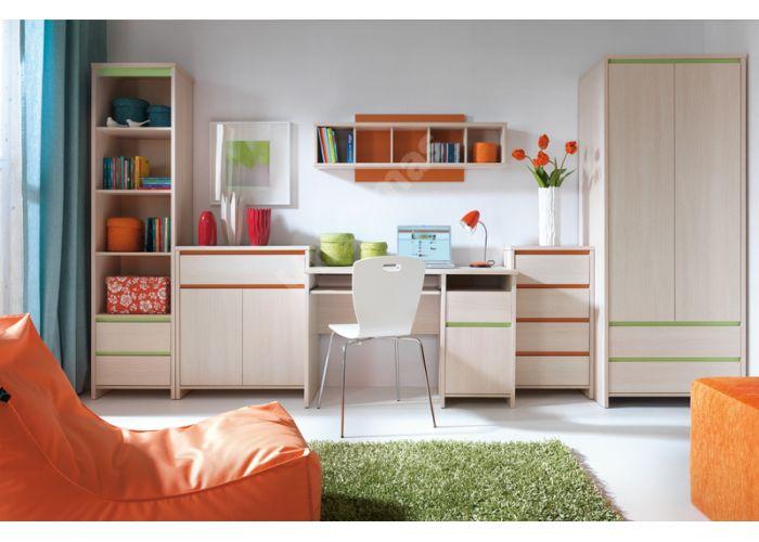 Нумлок Зеленый, 009 Пенал REG4D1S, Офисная мебель, Офисные пеналы, Стоимость 10725 рублей., фото 2