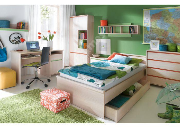 Нумлок Зеленый, 009 Пенал REG4D1S, Офисная мебель, Офисные пеналы, Стоимость 10725 рублей., фото 3