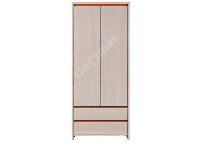 Нумлок Оранжевый, 010 Шкаф SZF2D2S, Спальни, Шкафы, Стоимость 12853 рублей.