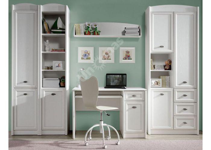 Салерно, 005 Шкаф B18-REG1DL, Офисная мебель, Офисные пеналы, Стоимость 9371 рублей., фото 2