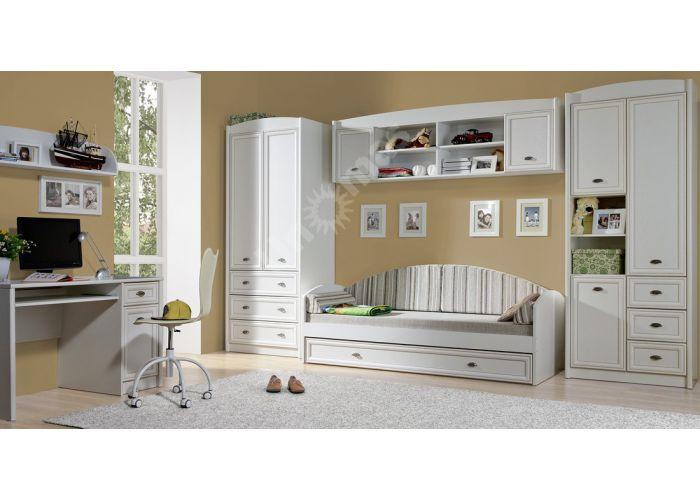 Салерно, 005 Шкаф B18-REG1DL, Офисная мебель, Офисные пеналы, Стоимость 9371 рублей., фото 3