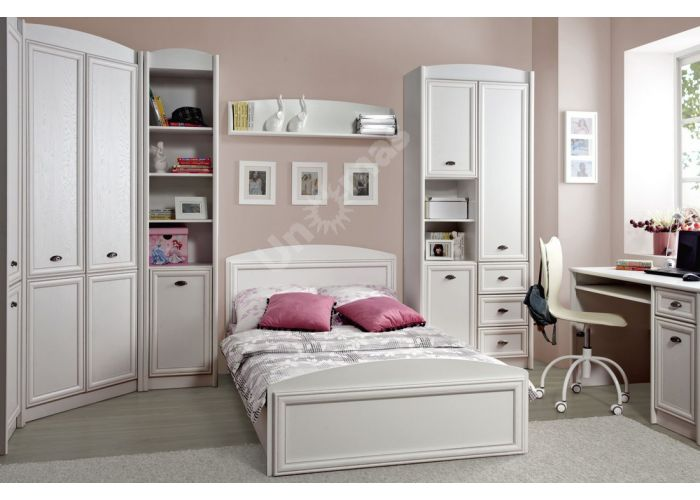 Салерно, 016 Кровать B18-LOZ/120, Спальни, Кровати, Стоимость 15697 рублей., фото 3
