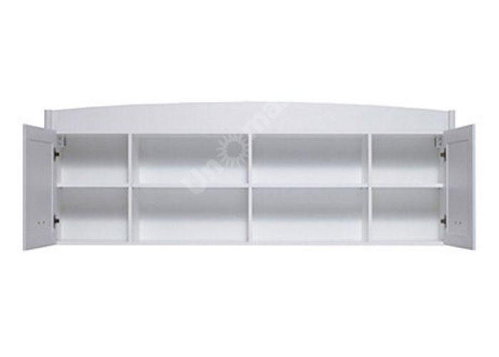 Салерно, 012 Шкаф настенный B18-SFW2D, Офисная мебель, Полки, Стоимость 10575 рублей., фото 5