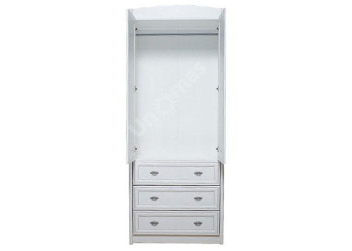 Салерно, 014 Шкаф B18-SZF2D3S, Спальни, Шкафы, Стоимость 24675 рублей., фото 4