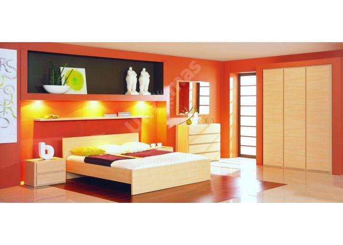 Дорс, 027 Кровать HLOZ/160, Спальни, Кровати, Стоимость 8213 рублей., фото 3