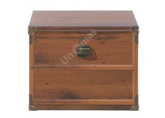 Индиана Дуб шуттер, J_027 Комод JKOM 1K 60, Спальни, Комоды, Стоимость 4622 рублей.