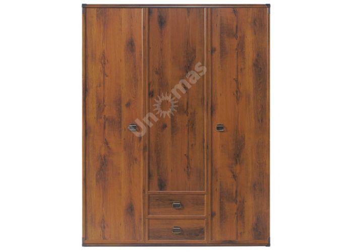 Индиана Дуб шуттер, J_021 Шкаф платянной JSZF 3d2s 150, Спальни, Шкафы, Стоимость 23175 рублей.