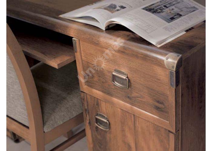 Индиана Дуб Саттер J_007 Стол письменный JBIU 2d2s 140 , Офисная мебель, Компьютерные и письменные столы, Стоимость 18797 рублей., фото 2