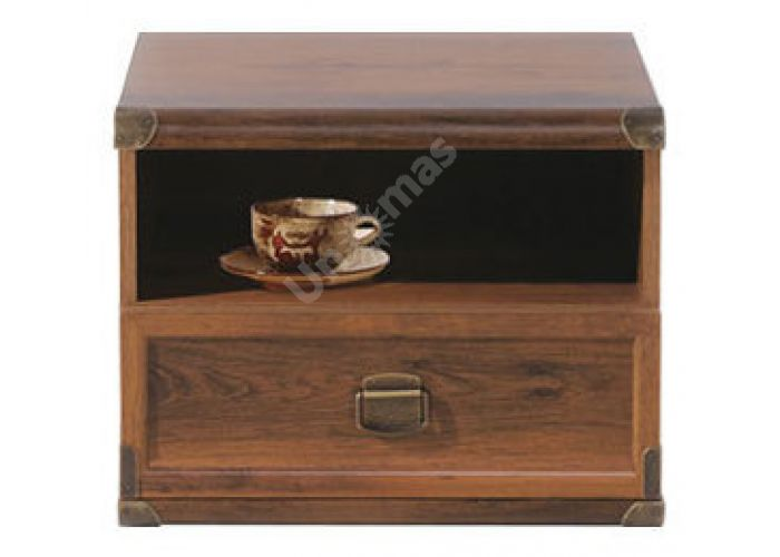 Индиана Дуб Саттер, J_022 Тумба прикроватная JKOM 1s 50, Спальни, Прикроватные тумбочки, Стоимость 6370 рублей.