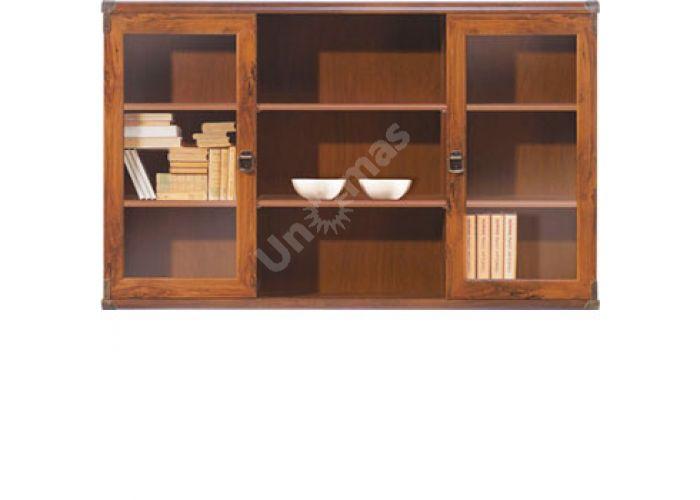 Индиана Дуб шуттер, J_013 Витрина навесная JNAD 2w 130, Офисная мебель, Полки, Стоимость 9600 рублей.