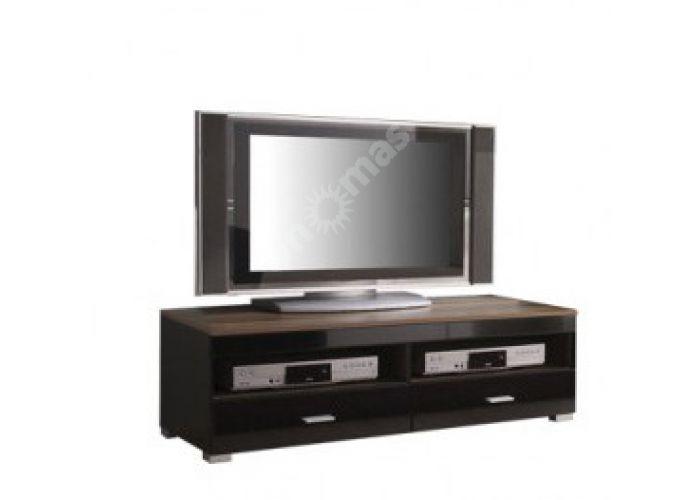 Янг (Jang) Слива валис/черный блеск, 003 Тумба РТВ RTV2S/4_12, Гостиные, ТВ Тумбы, Стоимость 7163 рублей.