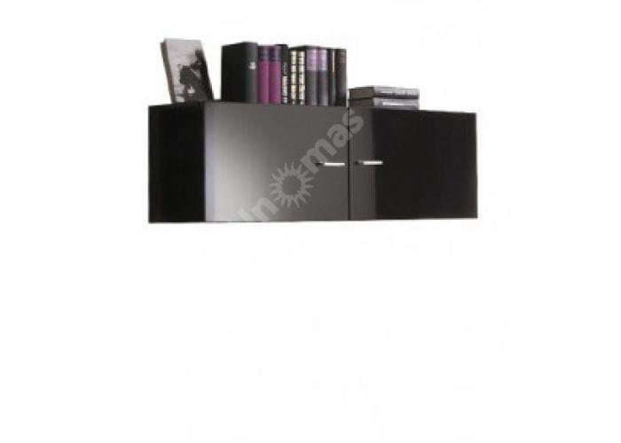 Янг (Jang) Слива валис/черный блеск, 007 Полка навесная SFW2D/11, Офисная мебель, Полки, Стоимость 5486 рублей.