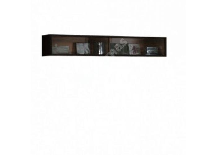Янг (Jang) Слива валис/черный блеск, 006 Полка навесная SFW2W/12, Офисная мебель, Полки, Стоимость 5175 рублей.