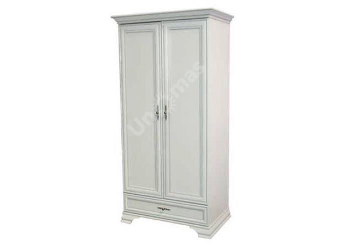 Кентаки Белый, 022 Шкаф SZF 2D1S, Спальни, Шкафы, Стоимость 20850 рублей.