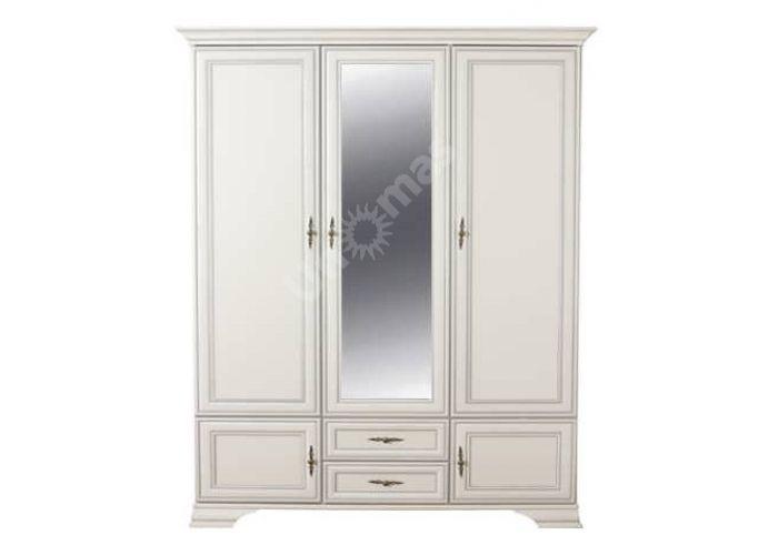 Кентаки Белый, 023 Шкаф SZF 5D2S, Спальни, Шкафы, Стоимость 45805 рублей.