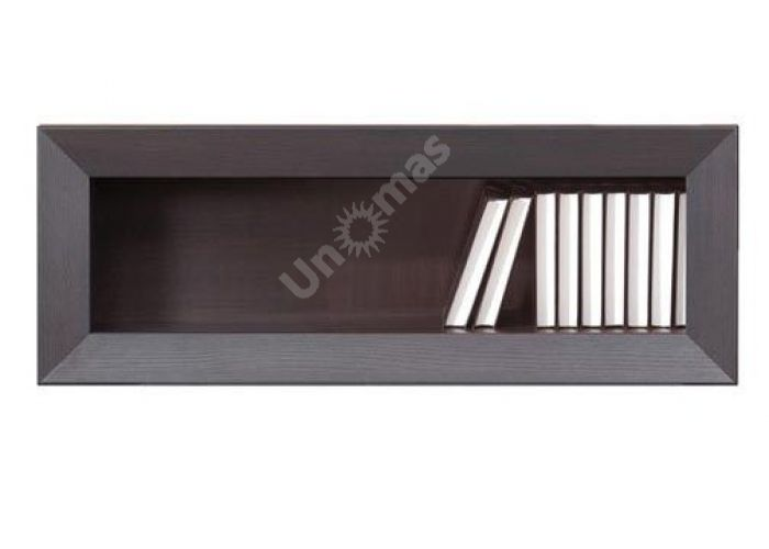 Ларго Дуб венге, 004 Полка PSW 4/11, Офисная мебель, Полки, Стоимость 3188 рублей.