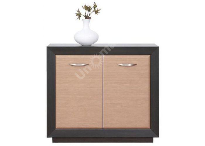 Ларго Дуб венге/Дуб тесаный, 017 Шкафчик PREG 2D/11, Спальни, Комоды, Стоимость 10922 рублей.