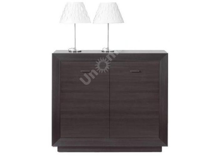 Ларго Дуб венге, 017 Шкафчик PREG 2D/11, Спальни, Комоды, Стоимость 9084 рублей.