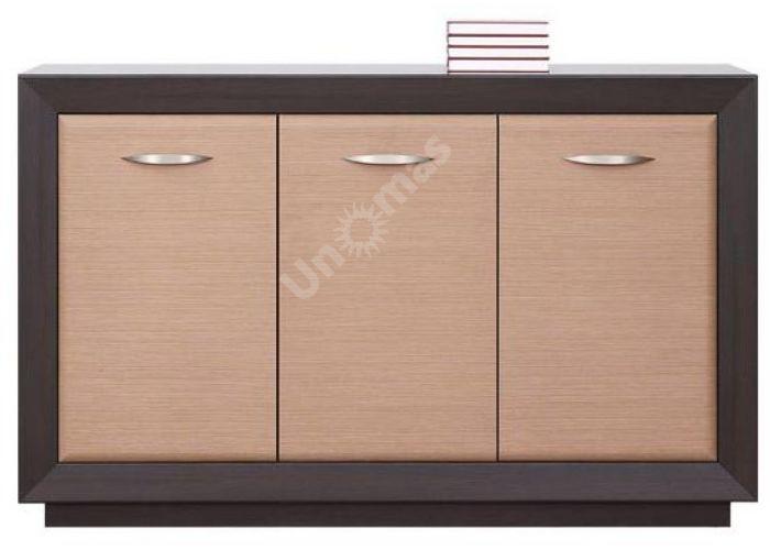 Ларго Дуб венге/Дуб тесаный, 018 Шкафчик PREG 3D/15, Спальни, Комоды, Стоимость 15263 рублей.