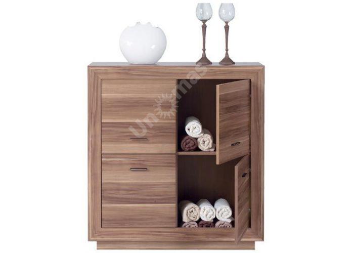 Ларго Дуб венге, 022 Шкафчик PREG 4D/11, Спальни, Комоды, Стоимость 11400 рублей., фото 2