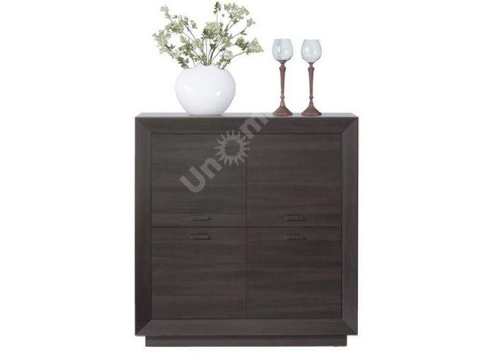 Ларго Дуб венге, 022 Шкафчик PREG 4D/11, Спальни, Комоды, Стоимость 11400 рублей.