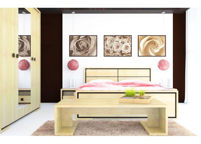 Николь, 013 Шкаф 3d , Спальни, Шкафы, Стоимость 28275 рублей., фото 3