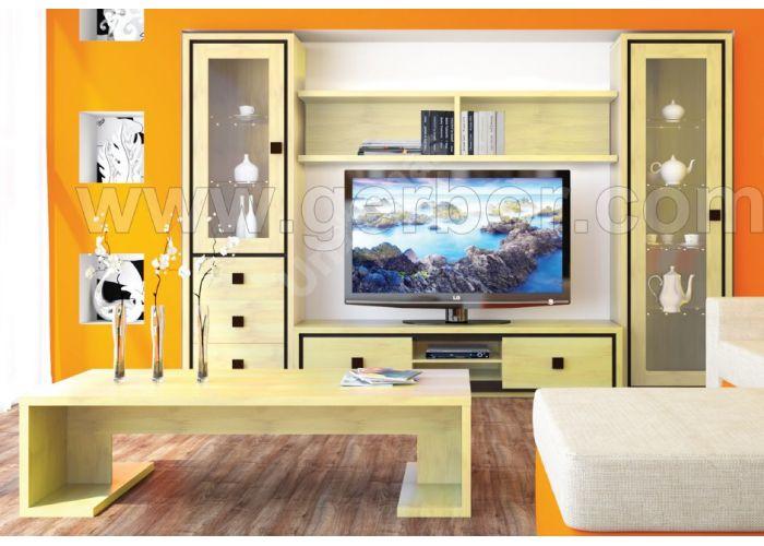 Николь, 010 Витрина 1w, Офисная мебель, Офисные пеналы, Стоимость 14981 рублей., фото 3