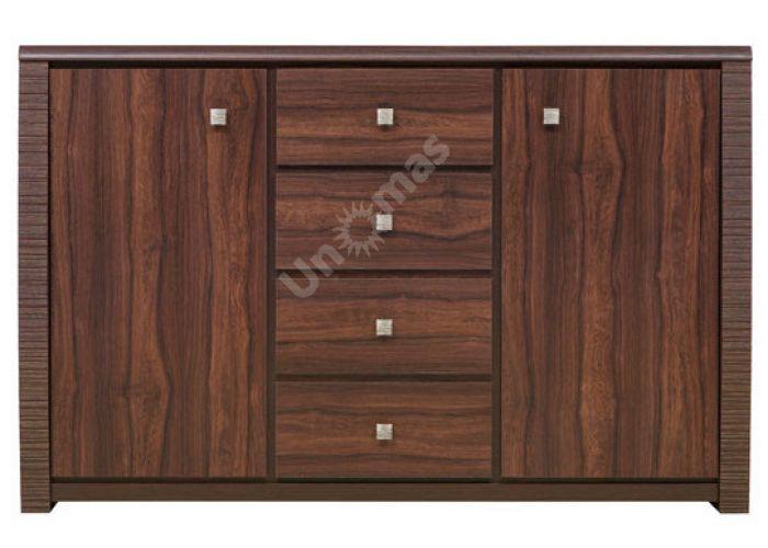 Сенегал, 006 Шкафчик KOM 2D4S, Спальни, Комоды, Стоимость 16350 рублей.