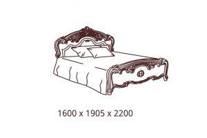 Анита, Кровать 2-х спальная