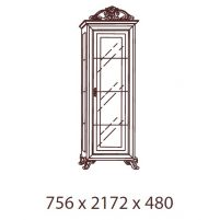 Катя, Витрина 1-дверная