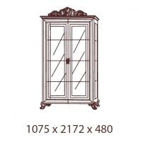 Катя, Витрина 2-х дверная