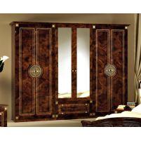 Рома, Шкаф 6-и дверный с зеркалами