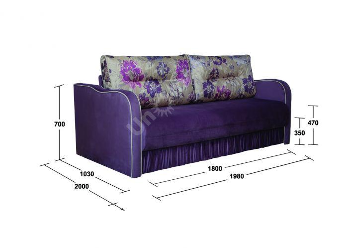 Эквадор 180 см, Мягкая мебель, Прямые диваны, Стоимость 26224 рублей., фото 2