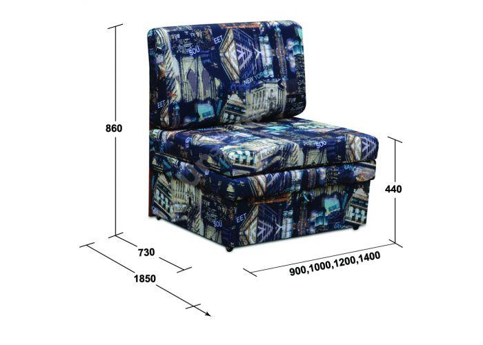 Хит 90 см, Мягкая мебель, Прямые диваны, Стоимость 13377 рублей., фото 4