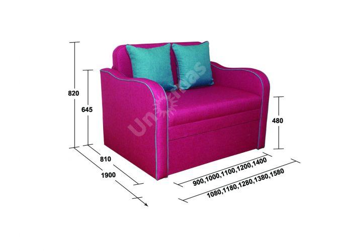 Кузя 120 см, Детская мебель, Детские диваны, Стоимость 21254 рублей., фото 3