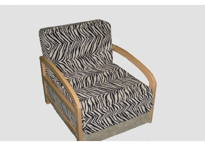 """Американка кресло-кровать деревянные подлокотники """"Подолянка"""", Мягкая мебель, Кресла, Стоимость 18900 рублей., фото 2"""