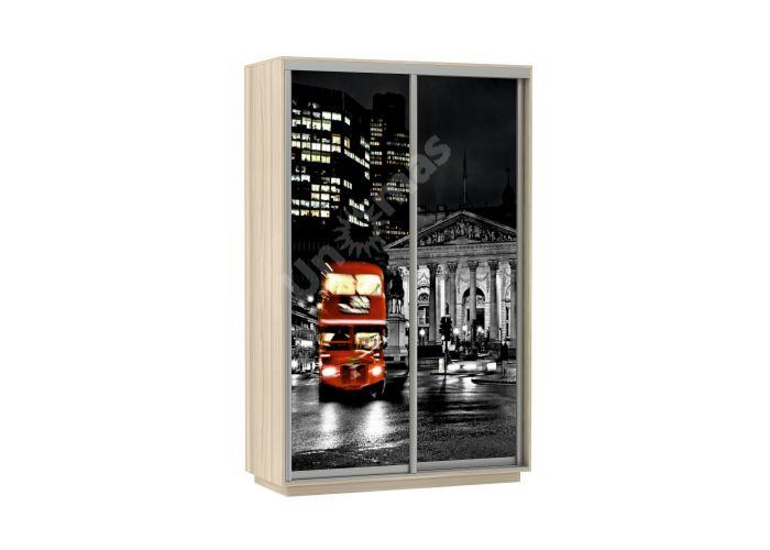 Шкаф-купе Лондон 120х220х60 см , Шкафы-купе, Стоимость 13090 рублей.