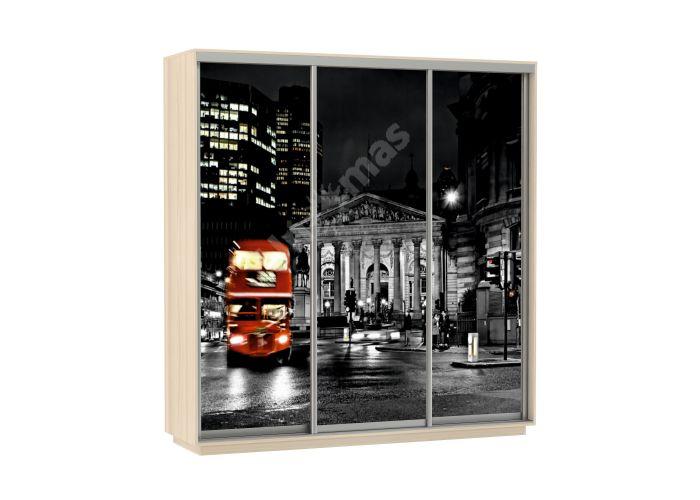 Шкаф-купе Лондон Трио 180 см, Шкафы-купе, Стандартные шкафы-купе, Стоимость 21590 рублей., фото 3