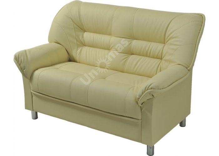 В - 100 диван 2-х местный иск. кожа ECO, Мягкая мебель, Прямые диваны, Стоимость 23473 рублей.