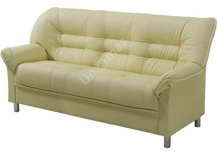 В - 100 диван 3-х местный иск. кожа ECO, Мягкая мебель, Прямые диваны, Стоимость 22553 рублей.