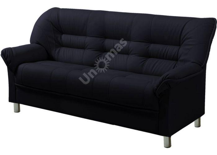 В - 100 диван 3-х местный иск. кожа PV, Мягкая мебель, Прямые диваны, Стоимость 18160 рублей.