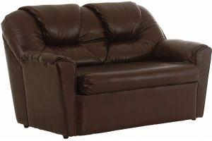 Бизон диван 2-х местн  иск. кожа DO