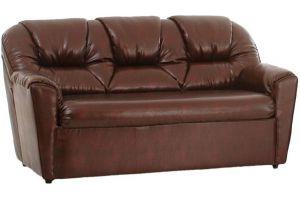 Бизон диван 3-х местн  иск. кожа DO